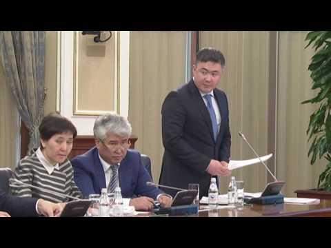Министр Сулейменов растерялся
