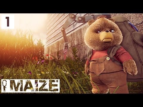 Maize Gameplay! SENTIENT CORN AND ANGRY RUSSIAN TEDDY BEARS? - Let