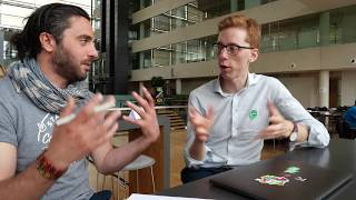 Most ambitious open Banking with access to over 250 Nordic Banks databases, #CPHSW Interview 2018