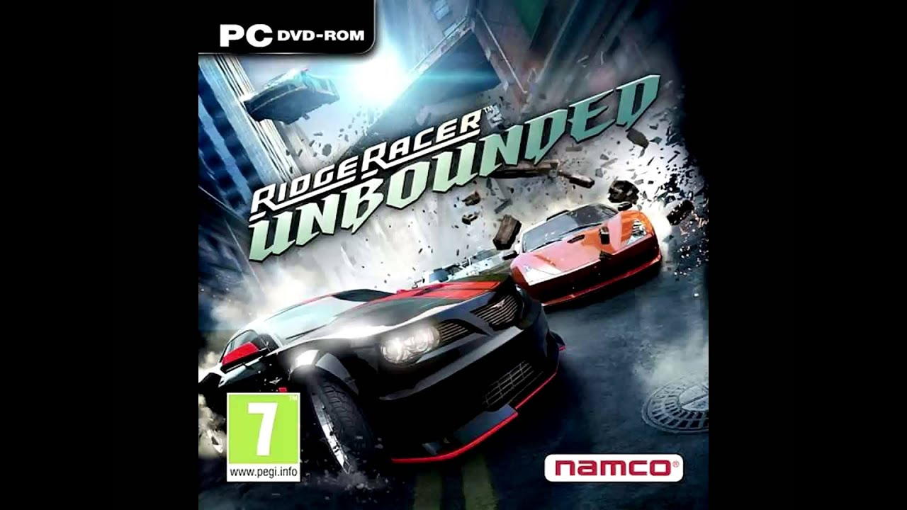 ridge racer unbounded soundtrack