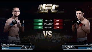 UFC EA Sports Boxing Timothy Elliott VS Erik Perez Gameplay