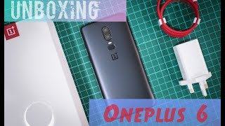 Unboxing - OnePlus 6 Midnight Black Global Version A6003 - Indonesia