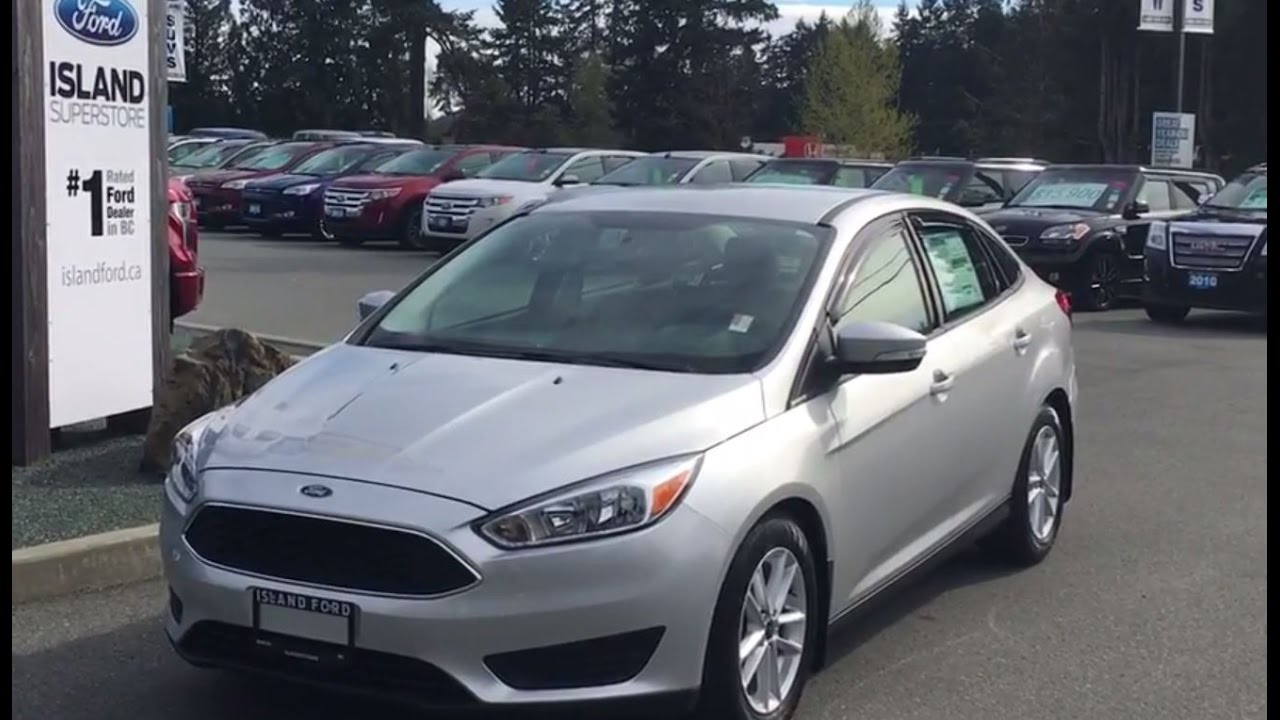 2016 ford focus se flex fuel power trunk release review island ford youtube. Black Bedroom Furniture Sets. Home Design Ideas