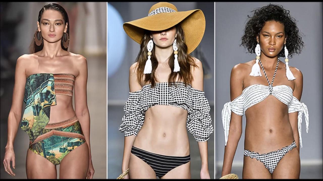 d8aa67872cdb Tendências da moda Praia de 2018 para as Beldades Arrasarem. - YouTube