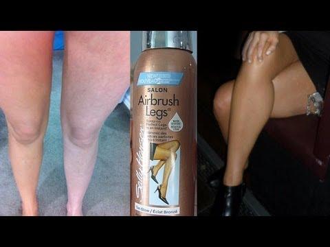 salon airbrush legs