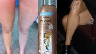 Sally Hansen Airbrush Legs Review + Before & After