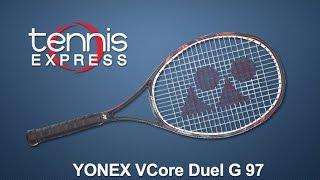 Yonex VCore Duel G 97 Racquet Review | Tennis Express