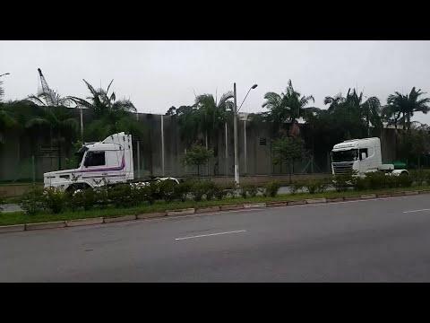 CHARADA - OS CAMINHÕES MAIS TOPS DO BRASIL- CHEGANDO NA FÁBRICA DA SCANIA