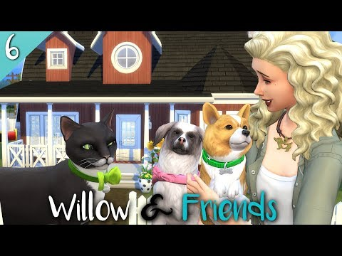 The Sims 4: LETS PLAY // CATS AND DOGS (GROWING UP?! ) EP 6