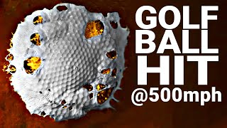 How Hard Can You Hit a Golf Ball? (at 100,000 FPS) - Smarter Every Day 216 thumbnail