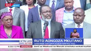 Ruto aongoza mkutano wa Jubilee huku wajumbe wakitaka kujua nafasi yao chamani