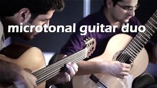 Microtonal Guitar Duo