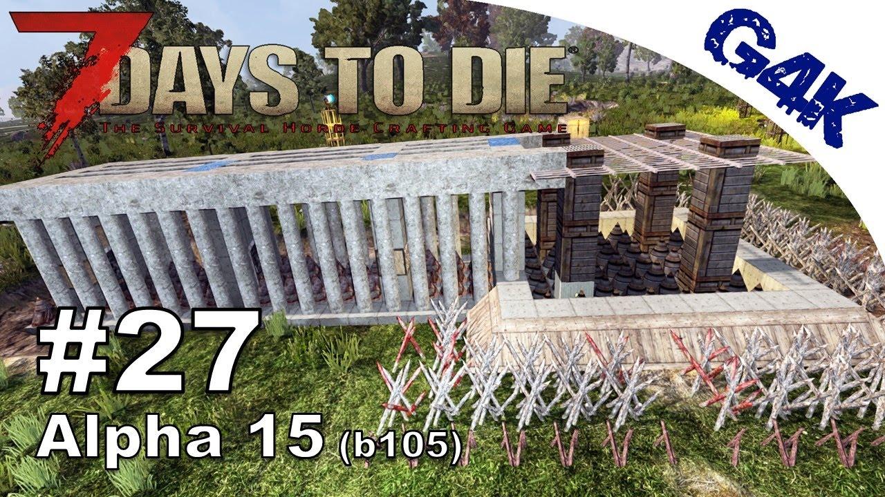 7 days to die hallway of doors trap design 7 days to for Door 7 days to die