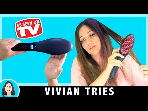 Simply Straight Hair Review | Testing As Seen On TV Product