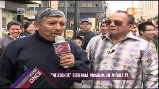 Melcochita en América tv - A las Once - 04-06-2015