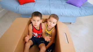 The Floor is Ocean    Pretend Play with Magic Imagination Box    Пол это океан