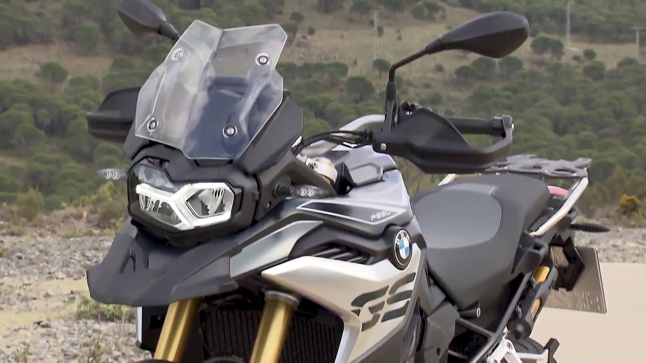 the new bmw f 750 gs and f 850 gs trailer. Black Bedroom Furniture Sets. Home Design Ideas