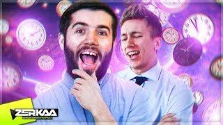2 GUYS VS 1000 CLOCKS! (Escape First with Simon)