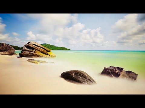 Boost Positive Energy: Relaxing Yoga Music + Tropical Beach Sounds
