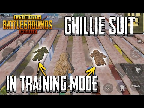 PUBG Mobile Easter Egg | How To Find Ghillie Suit In Training Mode | Lightspeed And Quantum