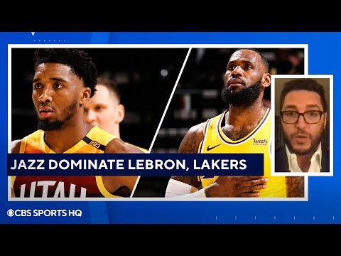 Lakers vs Jazz FULL recap: LeBron James, Lakers dominated by red-hot Jazz  CBS Sports HQ