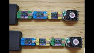 USB тестер RD UM34C и нагрузка RD LD25 - кому шашечки, а кому ехать