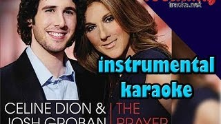 The Prayer ( instrumental / karaoke ) minus one, lyrics