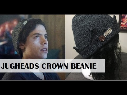 5892953e430 How to Make Jughead s Crown Beanie From Riverdale! - YouTube