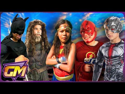 The Justice League Kids Vs Darth Vader - Kids Parody