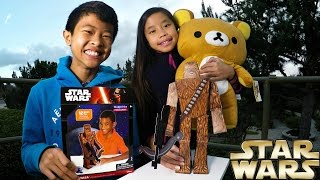 Papercraft Origami Star Wars Chewbacca Paperfolding Assembly Tutorial: Doc & E.L., Rocky, Rilakumma