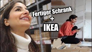 Mein fertiger KLEIDERSCHRANK + IKEA Besuch | IschtarsLife