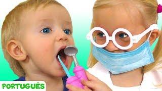 Canção do dentista - canção para crianças   Canções infantis   Katya e Dima