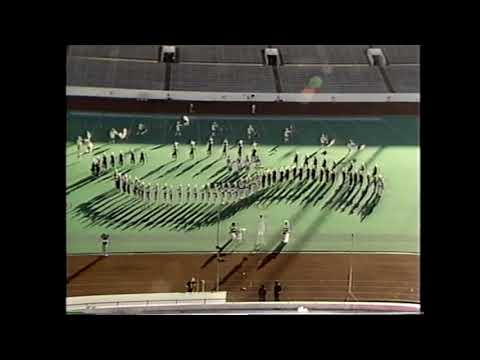 Rankin High School Band 1990 - UIL 1A Texas State Marching Contest