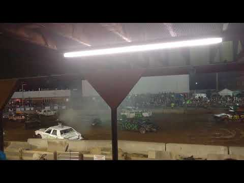 Demolition Derby at The 2017 Highland County Fair (Part # 2)