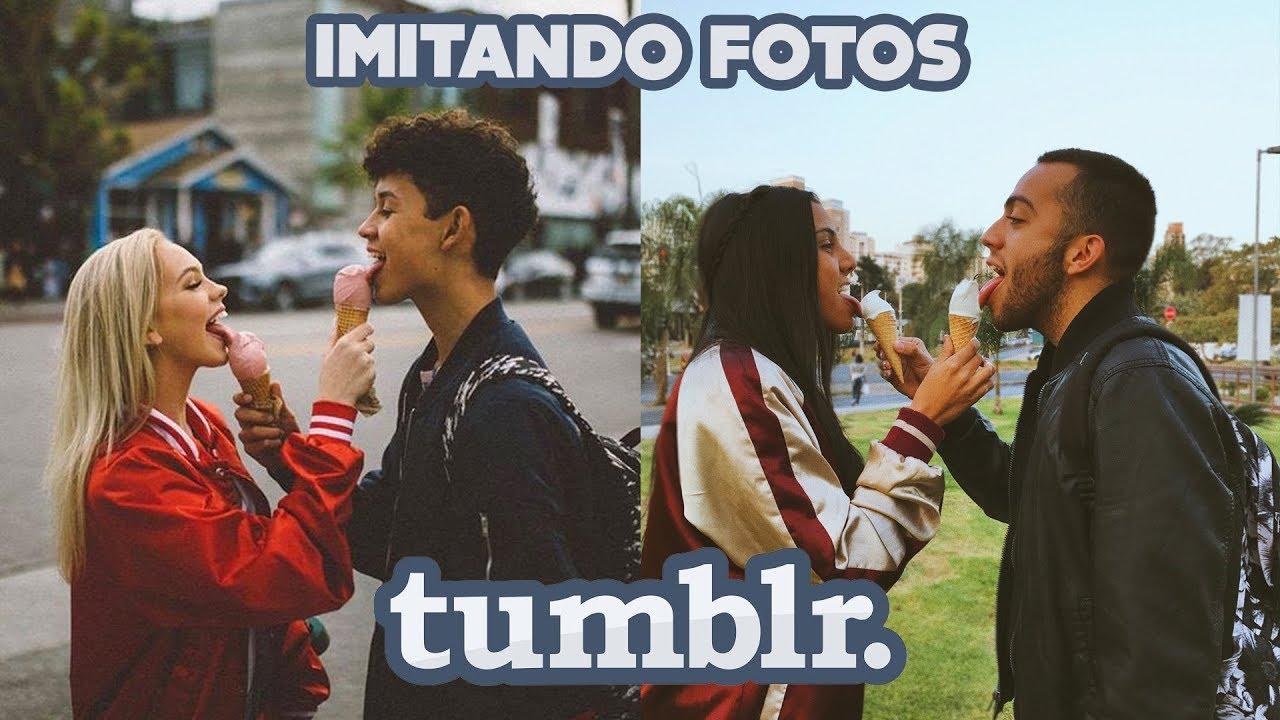 IMITANDO FOTOS TUMBLR DE CASAL Ft Dani Diz YouTube