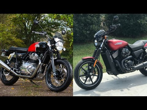 RE Interceptor 650 vs Harley Street 750