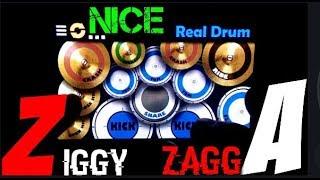 Download Ziggy Zagga Real Drum Cover Nice