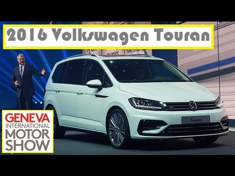 2016 volkswagen touran live photos at 2015 geneva motor show youtube rh youtube com vw touran owners manual volkswagen touran user manual