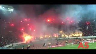 كركاج عالمي للوينرز واحتفالية في مباراة التأهل الوداد على حساب حوريا 5-0