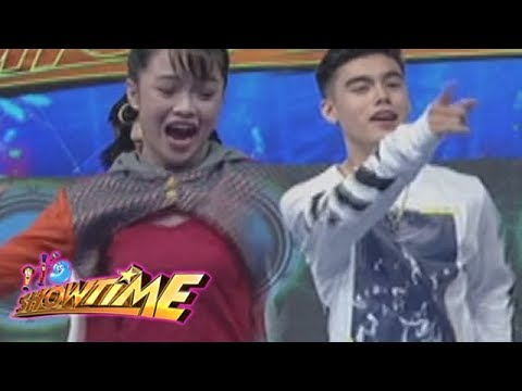 "It's Showtime: Bailey and AC dance to ""Taga Saan Ka"" Challenge"