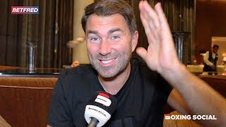 """AJ IS THE BEST HEAVYWEIGHT IN THE WORLD!"" EDDIE HEARN REFLECTS ON RUIZ-JOSHUA 2, WHYTE-WACH & MORE"