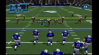 NFL 2K2 Gameplay(Dreamcast)