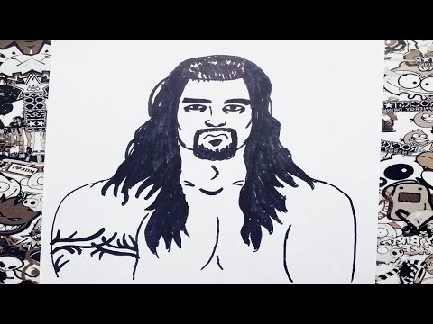 how to draw john cena videos