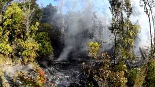 6 25 13 Lava Flow Hawaii Kilauea Volcano Lava Flow Nikon D800