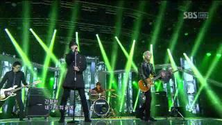 Trax - Blind (트랙스-창문) @SBS Inkigayo 인기가요 20111120