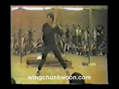 William Cheung - Wing Chun 3rd form 1984 NYC