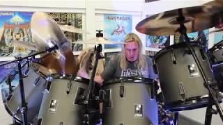Nicko McBrain | Where Eagles Dare & Drum Solo