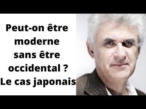 """""""Peut-on être moderne sans être occidental ? Le cas japonais"""", Pierre-François SOUYRI"""