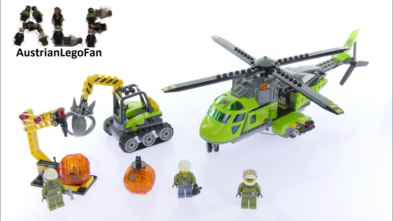 How To Build A Lego Helecopter