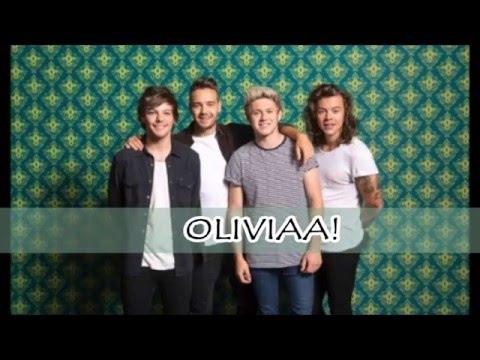 Olivia-One Direction (Lyrics + Pictures)